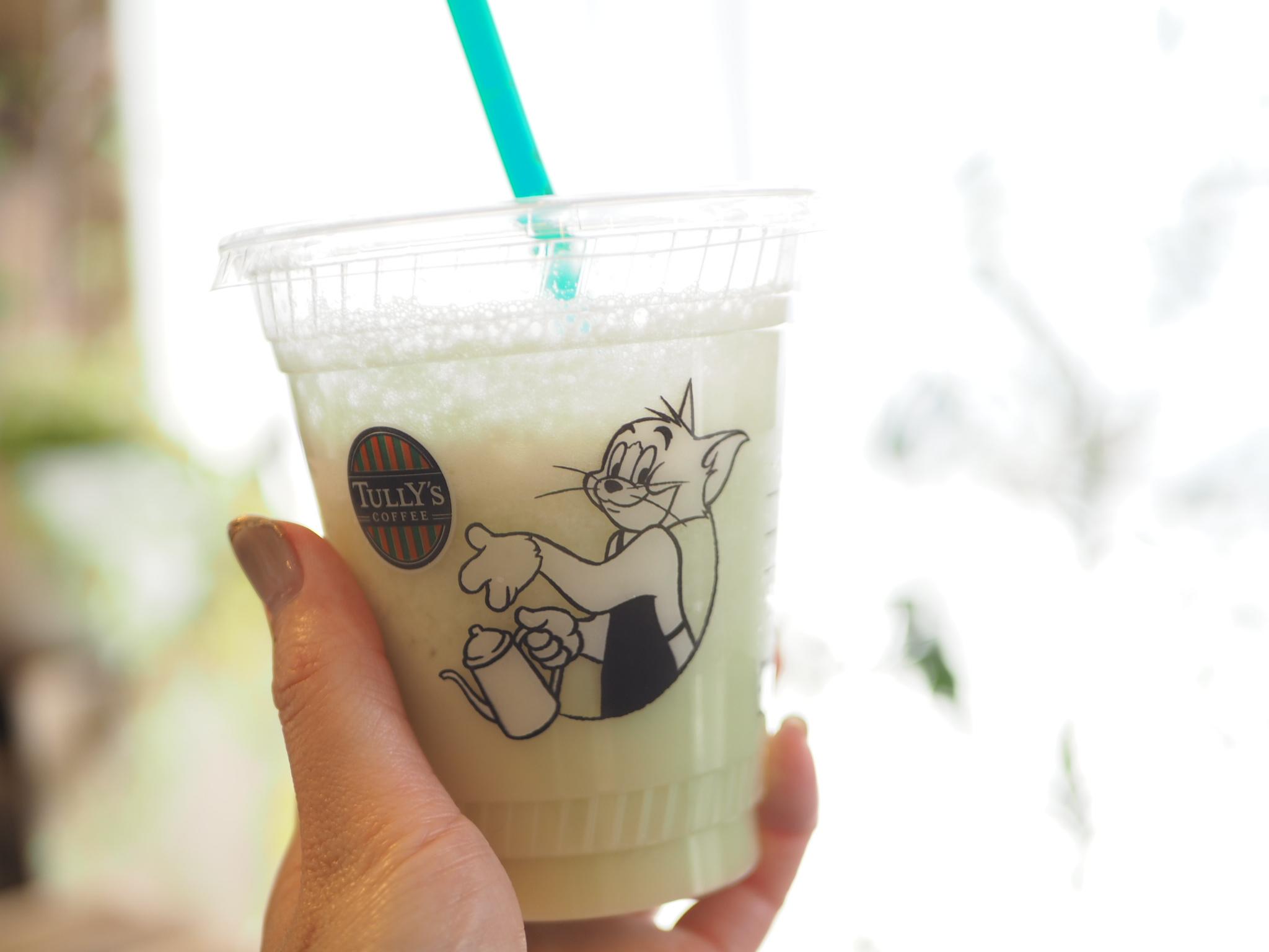 【TULLY'S COFFEE】タリーズ初のメロンドリンク!「メロンヨーグルトスワークル」を飲んでみました★_2