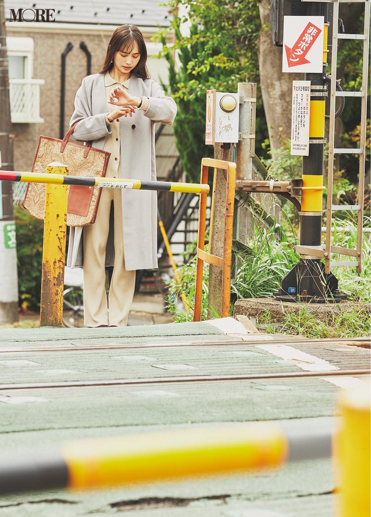 会議の時間を勘違い! 遅刻だ〜! 井桁弘恵主演『イージーパンツでノンストレスコーデ』着回し17日目_1