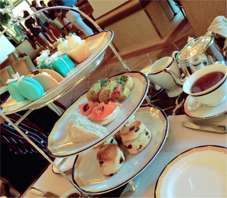 ★気分はまるでお姫様♡香港屈指のラグジュアリーなホテルでアフタヌーンティーを楽しもう★_17