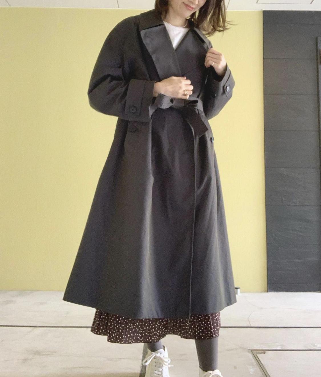 《今季スタメン❤️春コート》【Uniqlo U(ユニクロユー)】着るだけでこなれる!トレンチコート☻_2