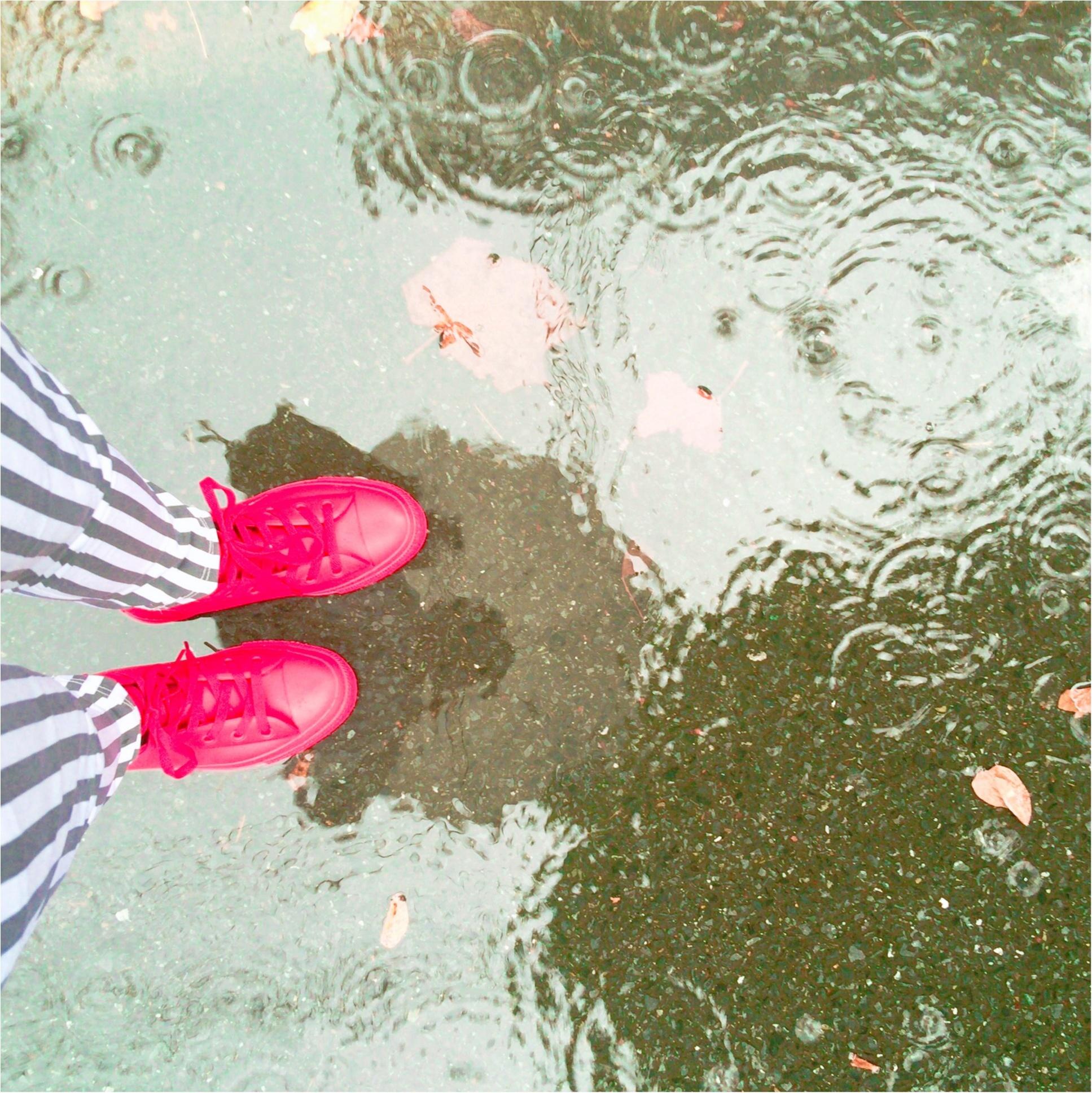 雨ニモマケズ✌︎コーデの幅が広がるレインシューズのすゝめ(hiiko)_1