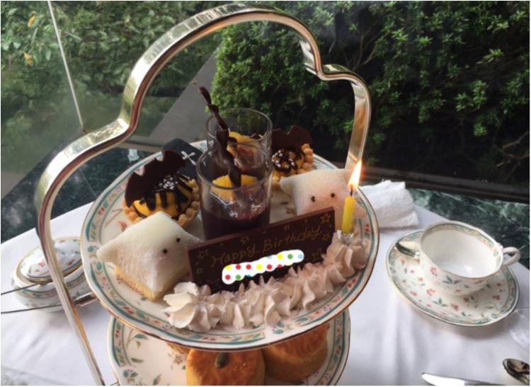 【ハロウィン】おばけちゃんに出会う♡大人のハロウィンは《ホテル椿山荘東京 ル・ジャルダン》のアフタヌーンティーで♪_4