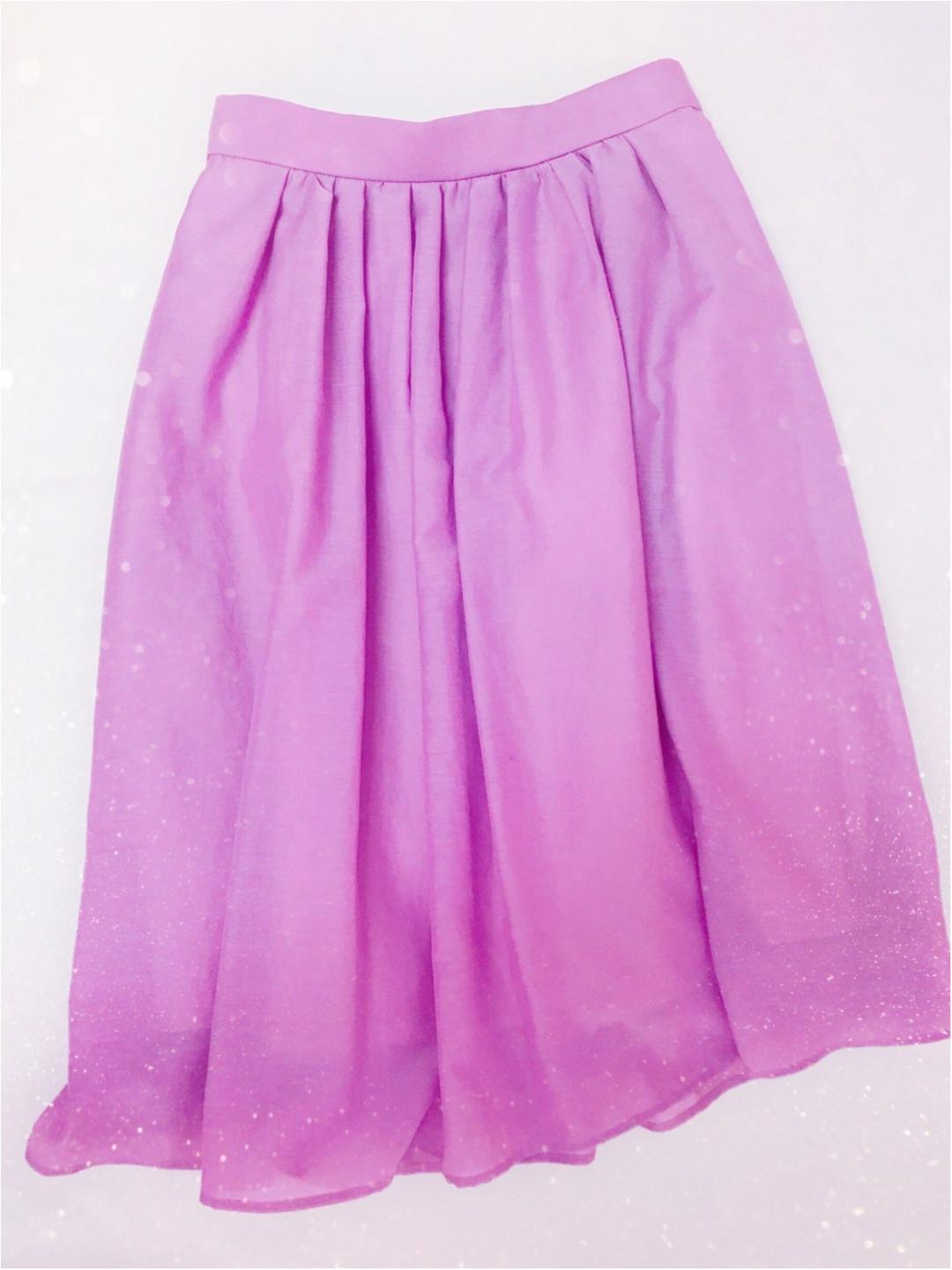 今流行りのカラースカート♡大人可愛く着るコツとは?٩(๑❛ᴗ❛๑)۶_1