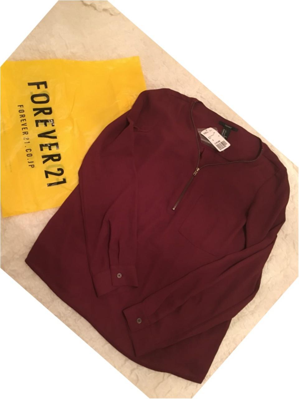 ♡プチプラファッション【forever21】トップスが599円に(°_°)♡モアハピ◡̈のぞみ♡_4