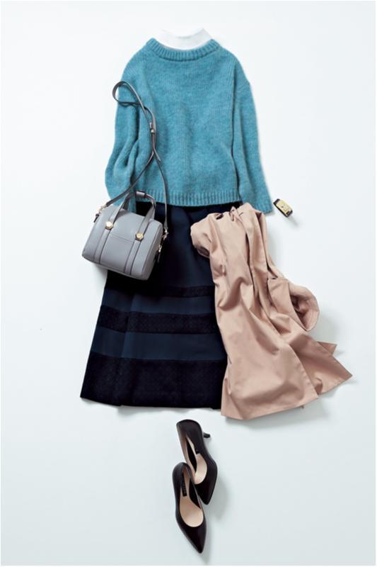 【2月に買って4月までずっと着る!】篠田麻里子のスカート着まわし×3_3