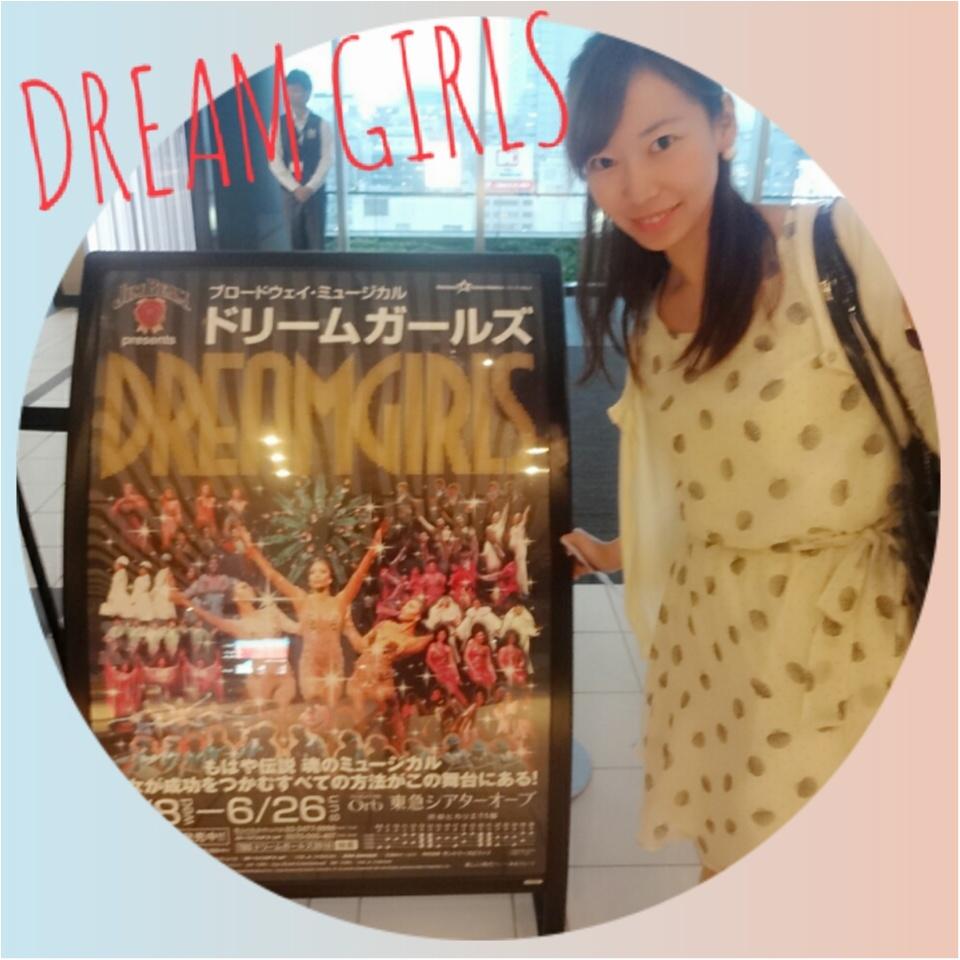 アフター5はミュージカル鑑賞♡ヒカリエ シアターオーブで観るDREAM GIRLS♡479ぱるるん_1