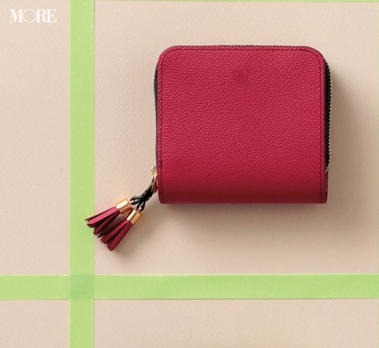 お財布で2020年の恋愛運もアップ!? ピンク&ベリー色の大人可愛い二つ折り財布3選_5
