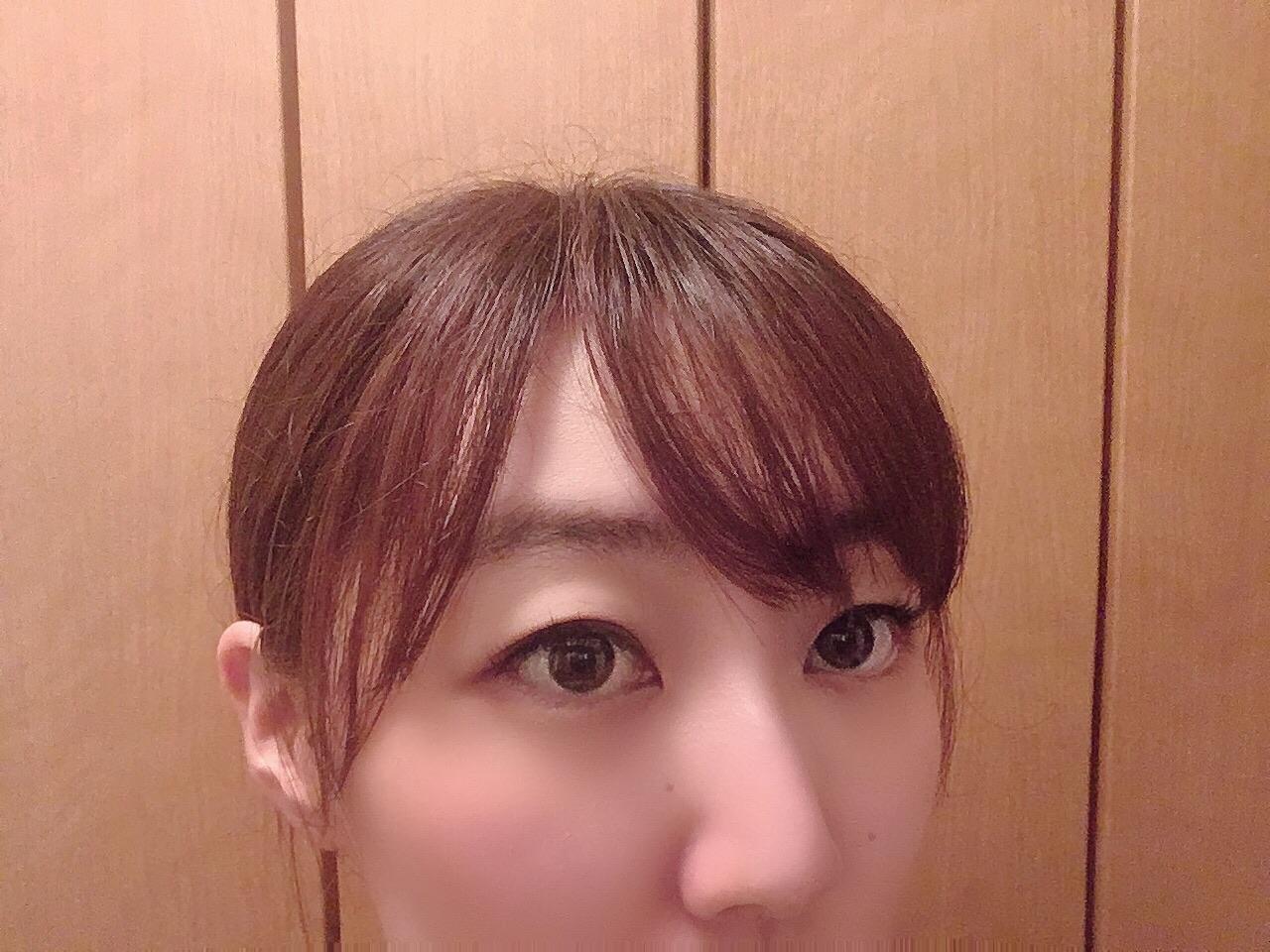 【セルフ前髪カット】ヒルナンデス!で栞里ちゃんも体験してた失敗しない切り方_3