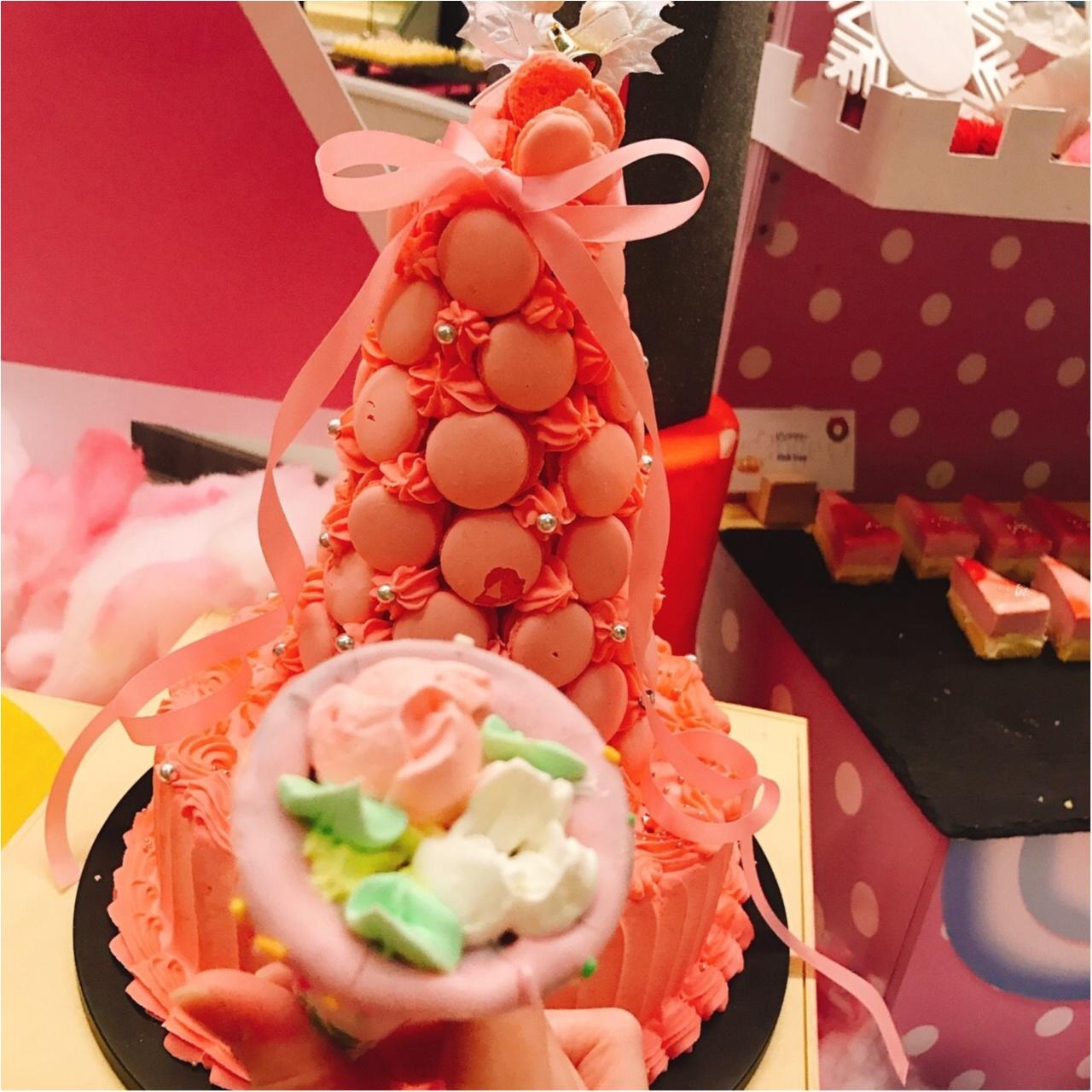 ♡モアハピ女子会!ヒルトン東京ベイのピンクだらけの可愛すぎるブッフェがお得すぎる♡_2