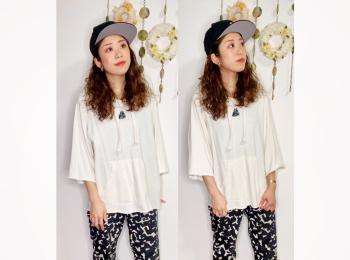 【オンナノコの休日ファッション】2020.9.24【うたうゆきこ】