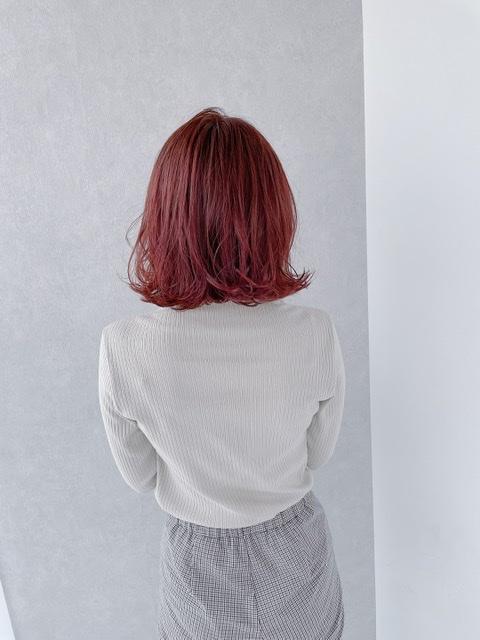 ブリーチ無しでキュートなピンク髪に!話題の#わたるマジック でダークストロベリーミルクに染めました♡_2
