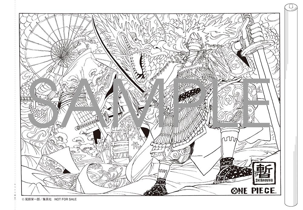 漫画『ONE PIECE』とコラボしたぬり絵がとじ込み付録に! MORE3月号の発売は1/28_1