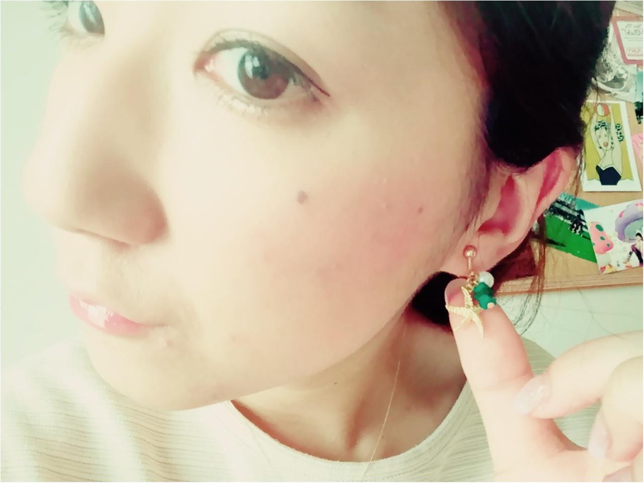 めこ、夏用イヤリングを買いました♡_2