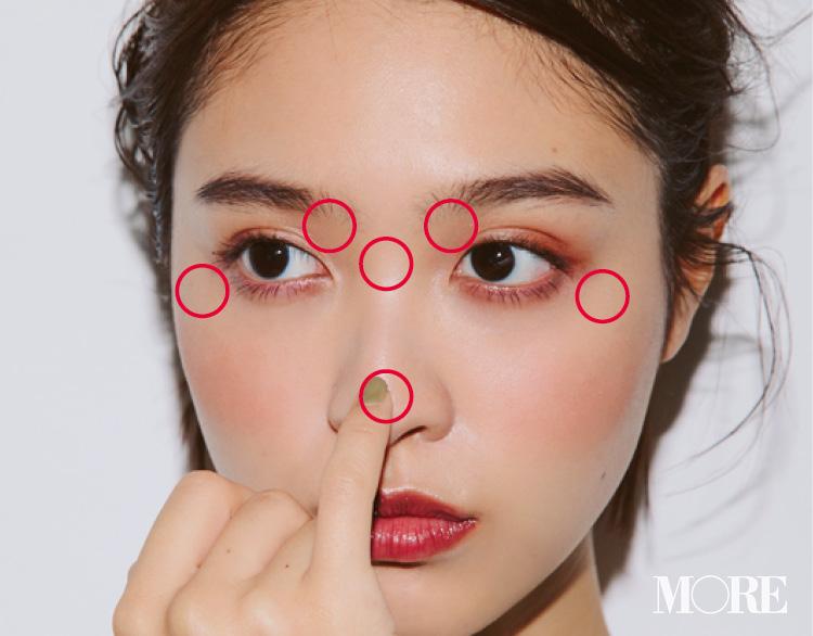 大人気ヘア&メイクpaku☆chanさんの「ハイライト&シェーディング、ここに入れてますMAP」で、ヘルシー小顔を手に入れよう♡ _4_1