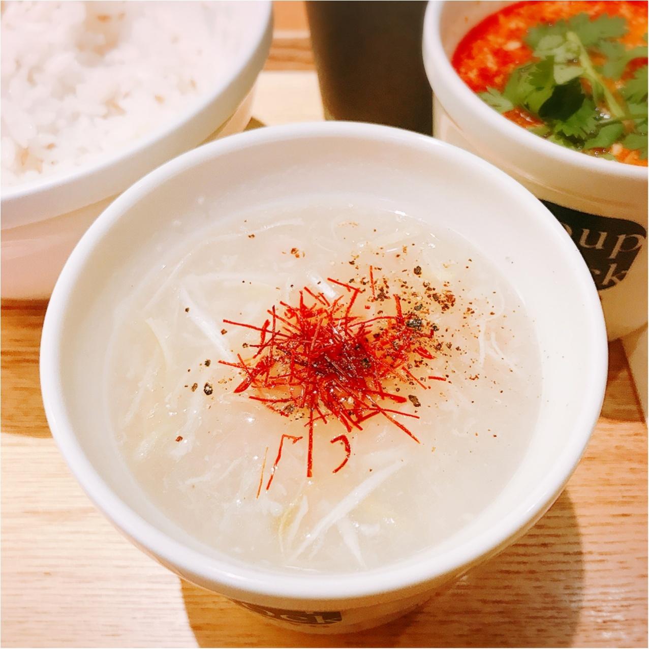 肌寒い日は《Soup Stock Tokyo》へ!新しくなった「参鶏湯(サンゲタン)」で温まろう♡_2