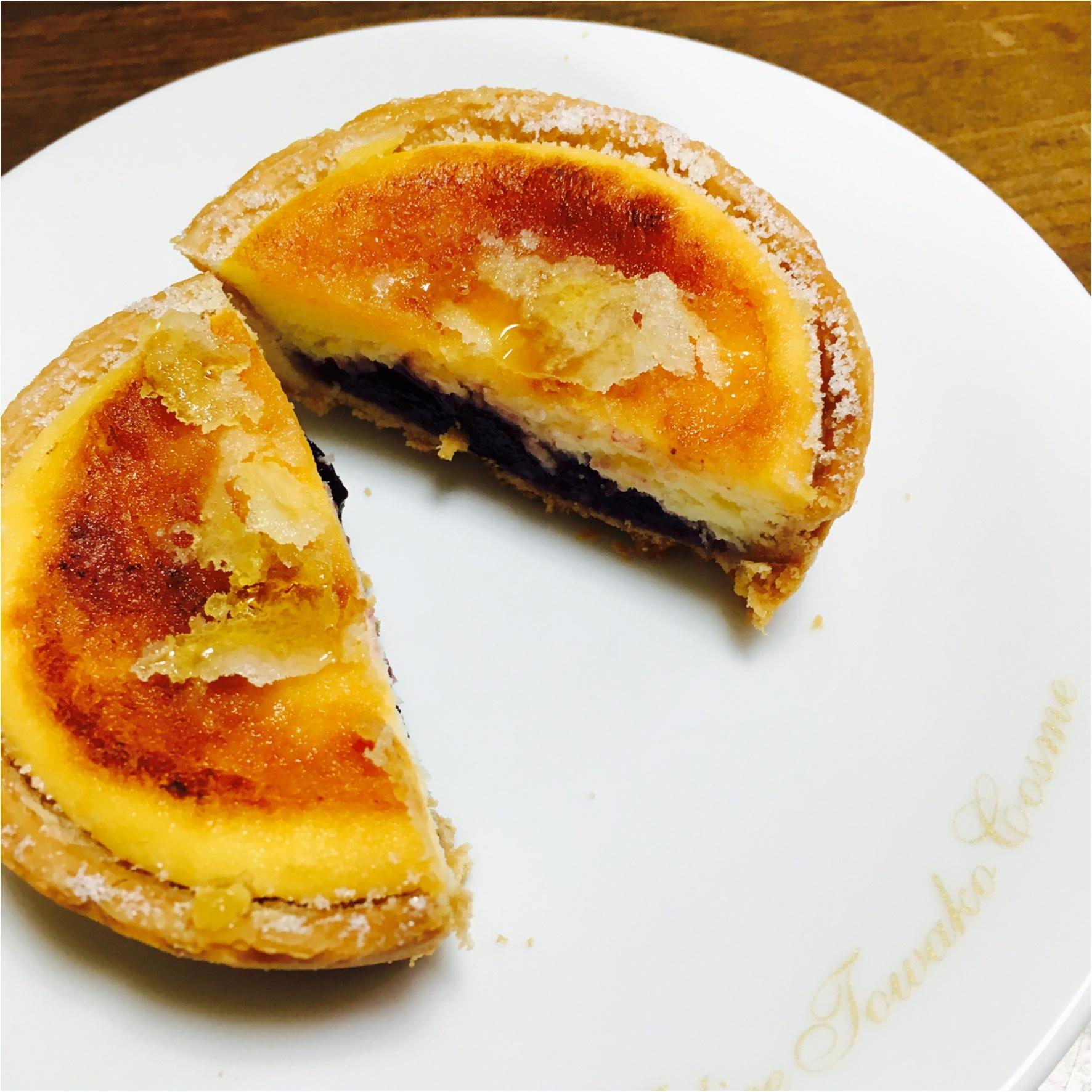 最近ハマった大好きなスイーツ❤︎チーズタルトを食べ比べ(o´罒`o)♡_7