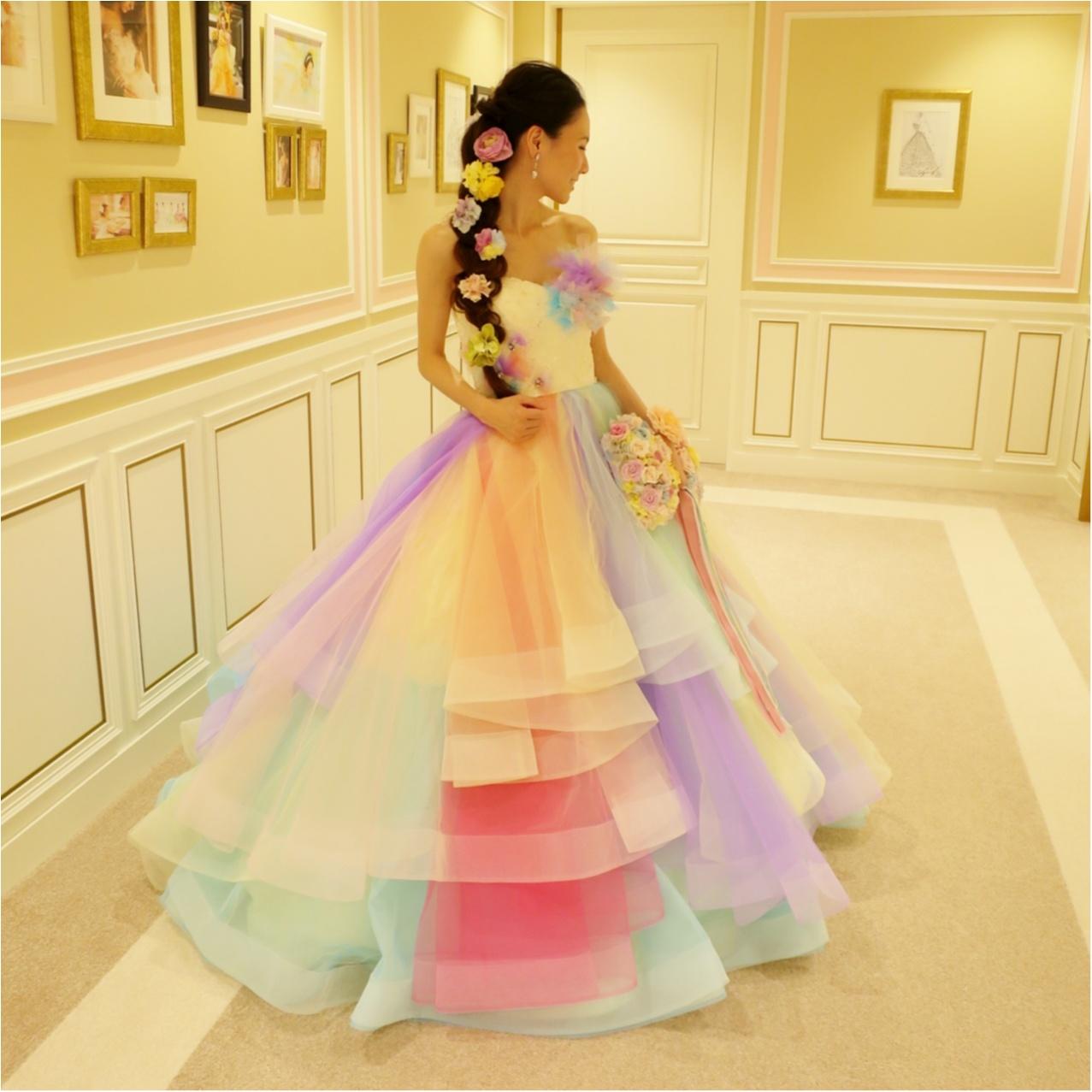 【Wedding】ウェディングドレス《 THE HANY(ザハニー) 》で人気No.1のレインボードレスがかわいすぎる♡_2