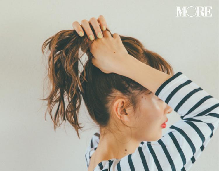 内田理央がお手本! ロング、ミディアム、ボブにおすすめの夏のヘアアレンジ 記事Photo Gallery_1_9