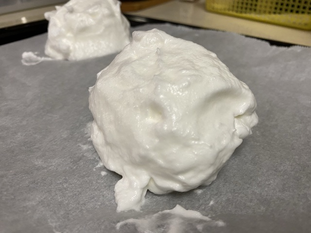 【TikTokで話題沸騰】雲パンを作ってみた!作り方も紹介❤︎_3