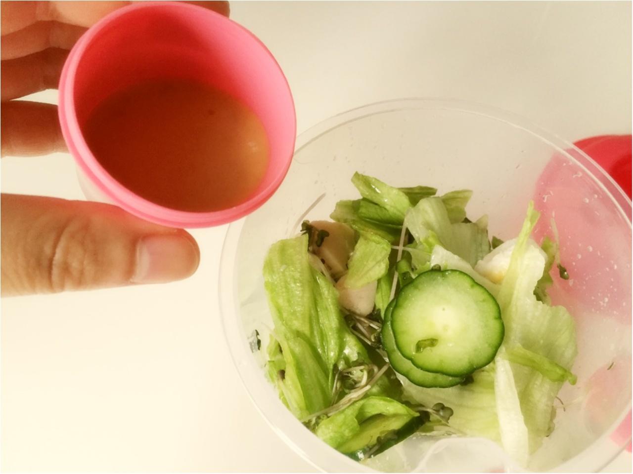お野菜たっぷり!毎日サラダランチ♡*_3