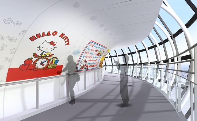『東京スカイツリー®』でHELLO KITTY45周年スペシャルイベント「HELLO KITTY 雲の上のアニバーサリー in TOKYO SKYTREE®」開催♡ _2