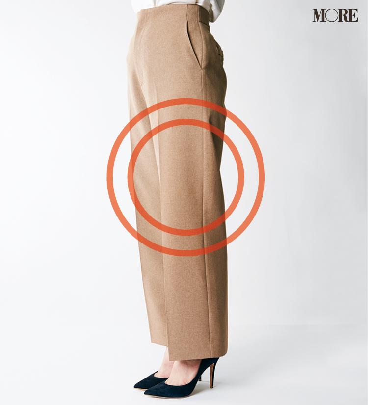 デニムパンツ&ワイドパンツ、どの靴と合わせるのが1番きれい? MOREがその相性を徹底検証!_4_3