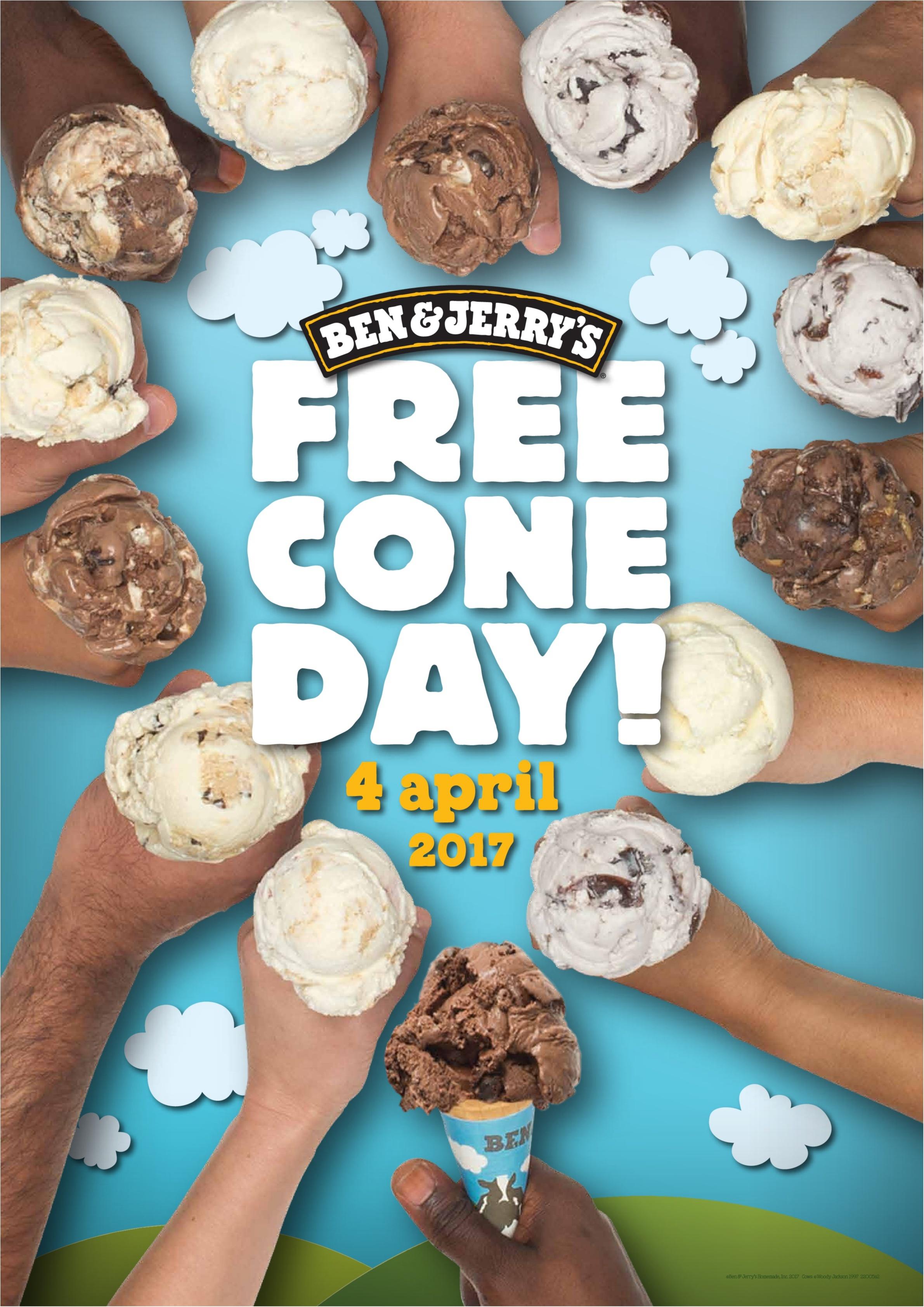 表参道&豊洲でアイスクリームが1日無料!!! 『BEN&JERRY'S』の「フリーコーンデー」今年は4/4(火)です♡_1