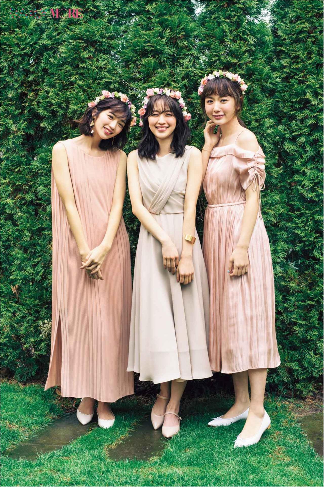 式が華やかになるし、自分たちも楽しいし♪ 大切な友人の結婚式には【ブライズメイト】やってみない?_1