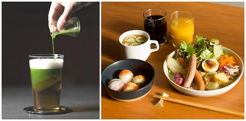 東京おしゃれホテルKAIKA 東京 by THE SHARE HOTELSのBARと朝食
