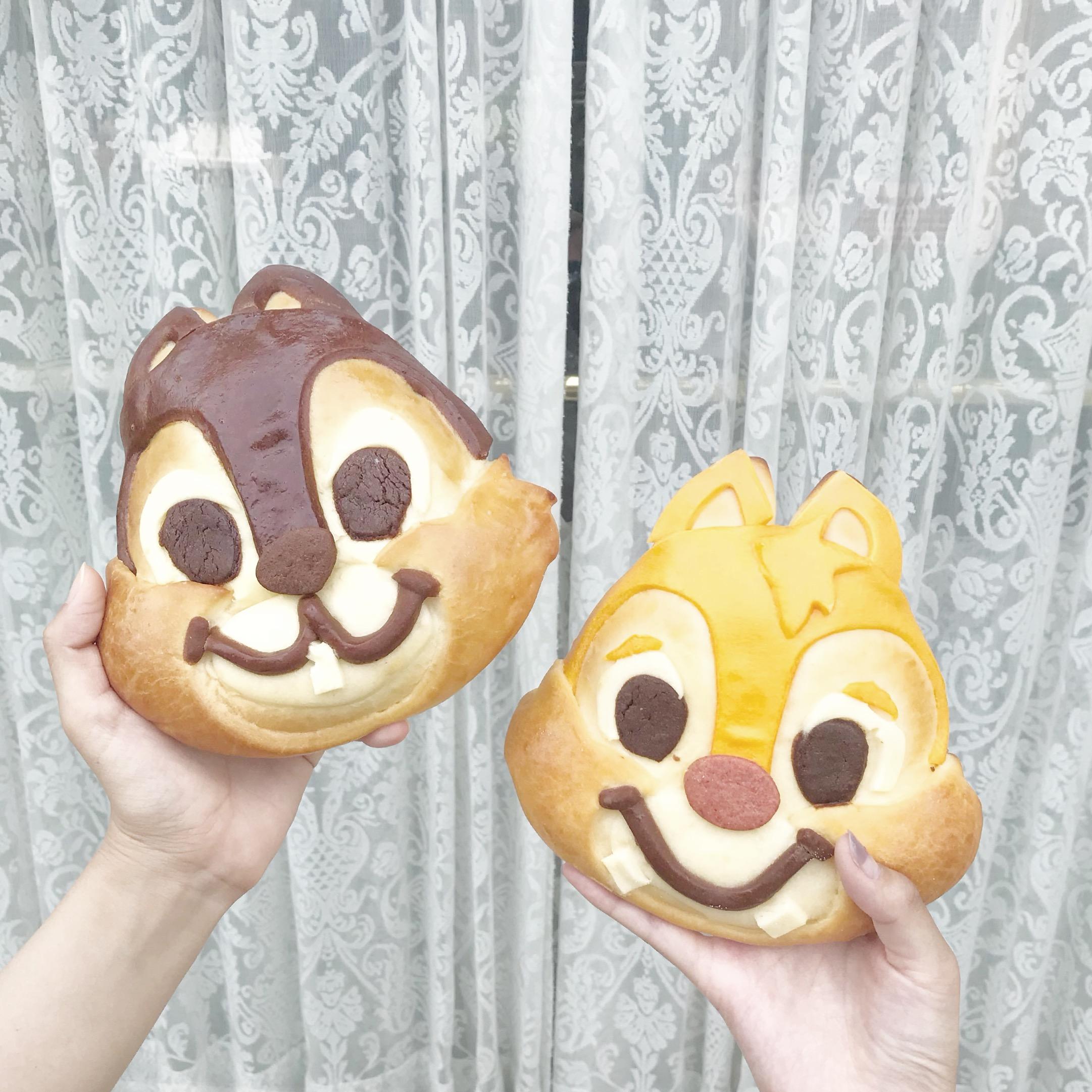 【チップとデールパン】こんなに可愛いパンが買えちゃう!チックタック・ダイナーって?_1