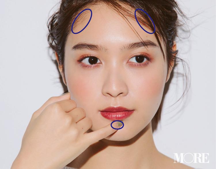 大人気ヘア&メイクpaku☆chanさんの「ハイライト&シェーディング、ここに入れてますMAP」で、ヘルシー小顔を手に入れよう♡ _5_1