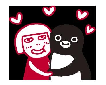 ルミネのルミ姉×SuicaのペンギンがLINEスタンプに登場!_3