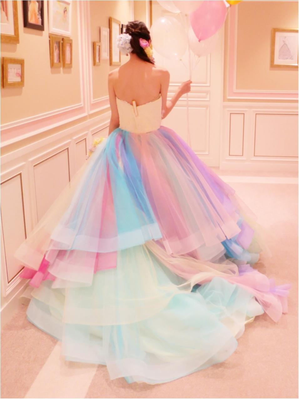 【Wedding】ウェディングドレス《 THE HANY(ザハニー) 》で人気No.1のレインボードレスがかわいすぎる♡_6