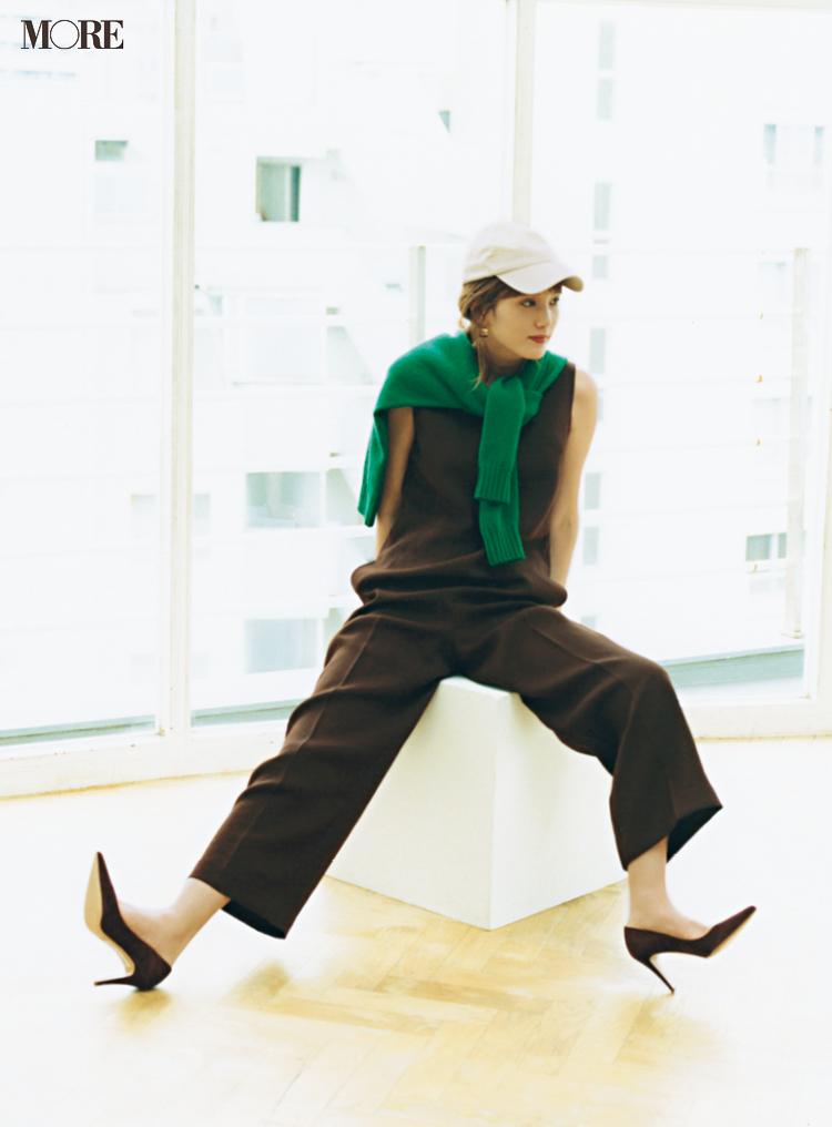 佐藤栞里が着る『 アニエスベー』の名作カーディガン♪本田翼のブラウンコーデもチェック【今週のファッション人気ランキング】_1_2