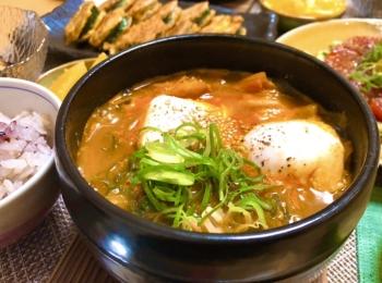 【♡テンジャンキムチチゲ♡】お家で作る本格韓国料理♪