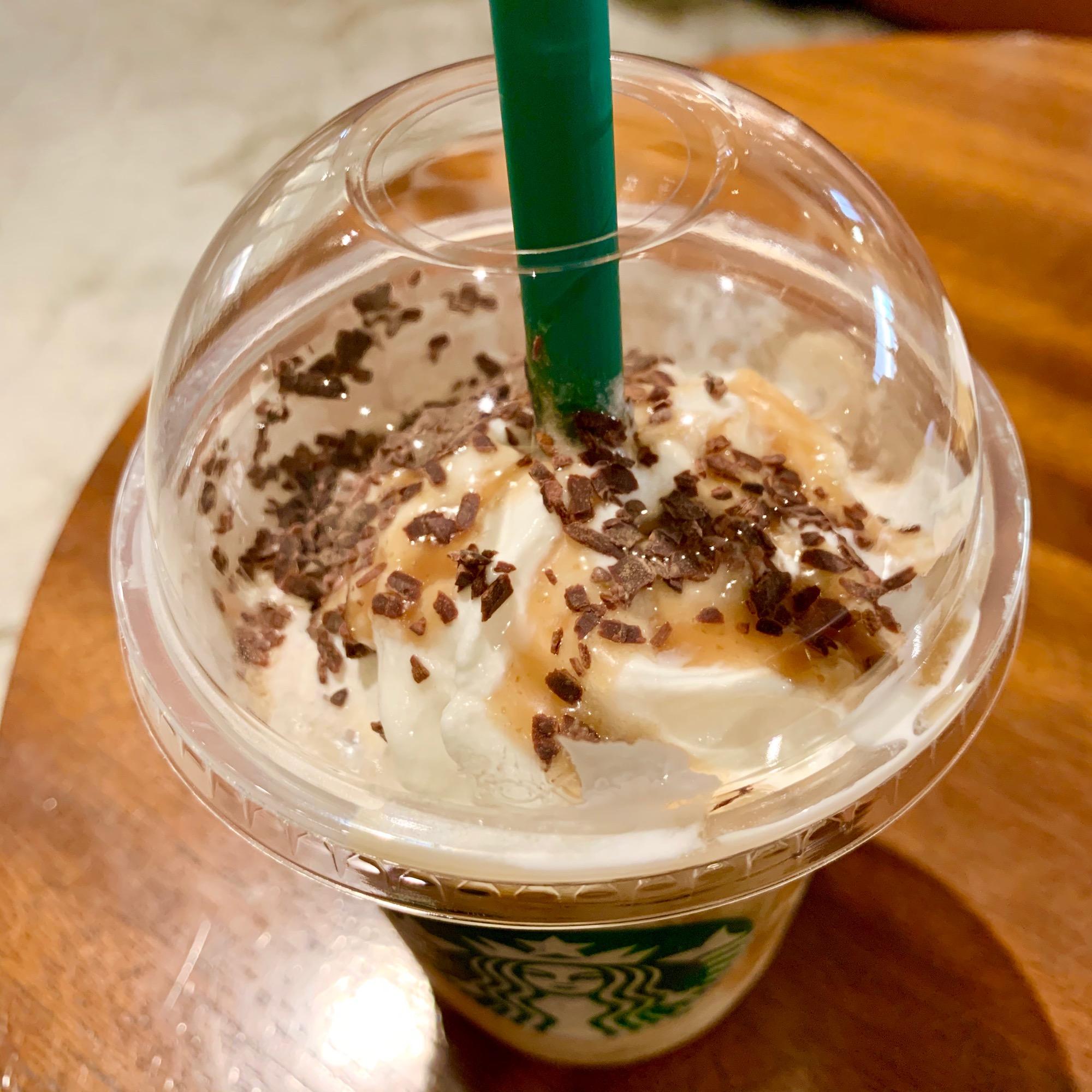 《栗まるごとのおいしさ❤️》本日発売!【スタバ】チョコレートマロンフラペチーノを最速レポ☝︎❤︎_3