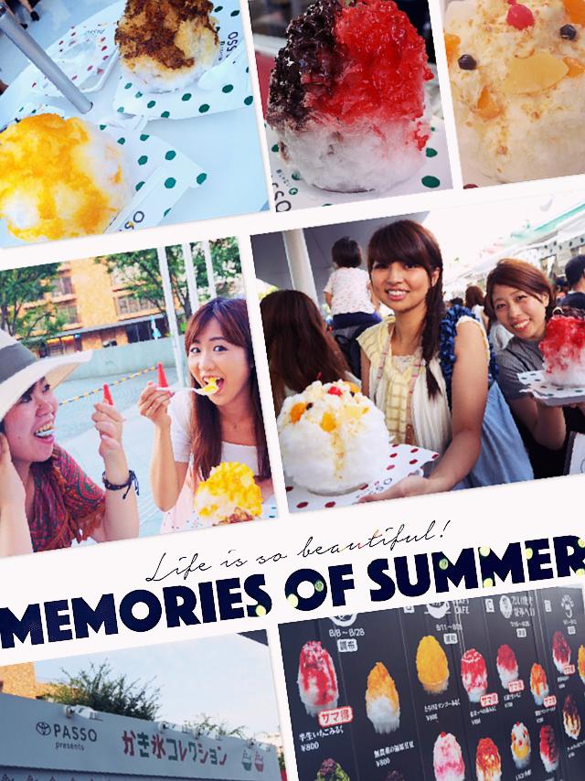 今年の夏はヒルズでジブリ!モアハピメンバーと過ごす夏休み♡カキ氷も☻_7