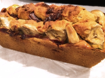 【♡黒糖バナナブレッド♡】混ぜて焼くだけ簡単レシピ