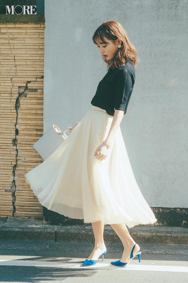 ベージュコーデ特集(20代後半女子向け)- 春におすすめのワンピースやスカート、靴などのコーディネートまとめ_3