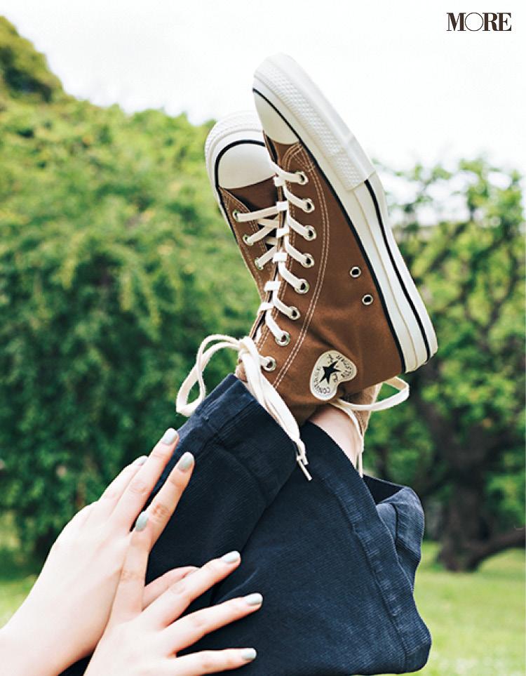 「ぺたんこ靴でお出かけ」が断然おしゃれ♡ レジャーも街ブラも飲み会も!_5