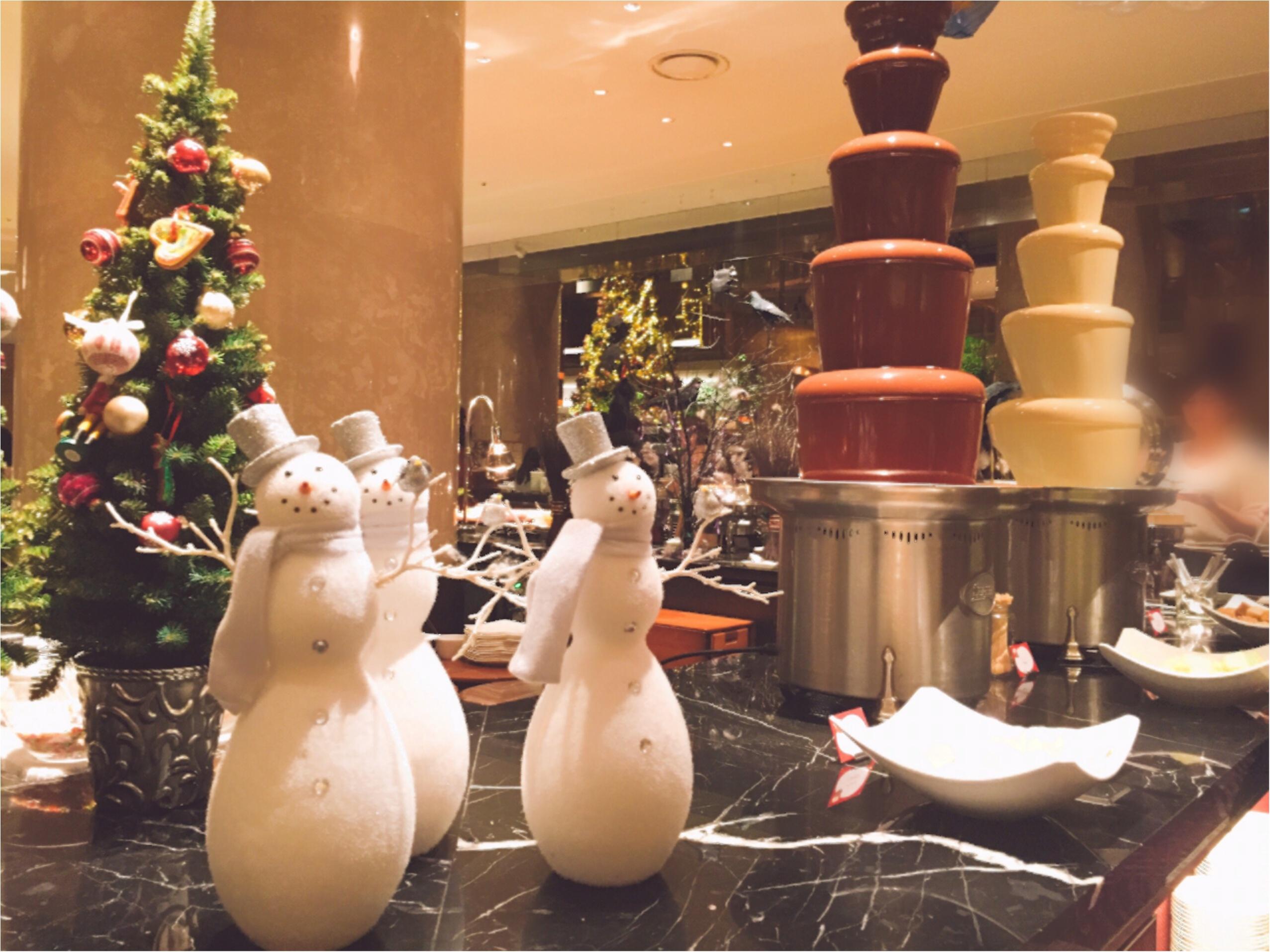 毎回大人気!ヒルトン東京のデザートブッフェ!夢のような『お菓子の家』の世界へ…♡*_7