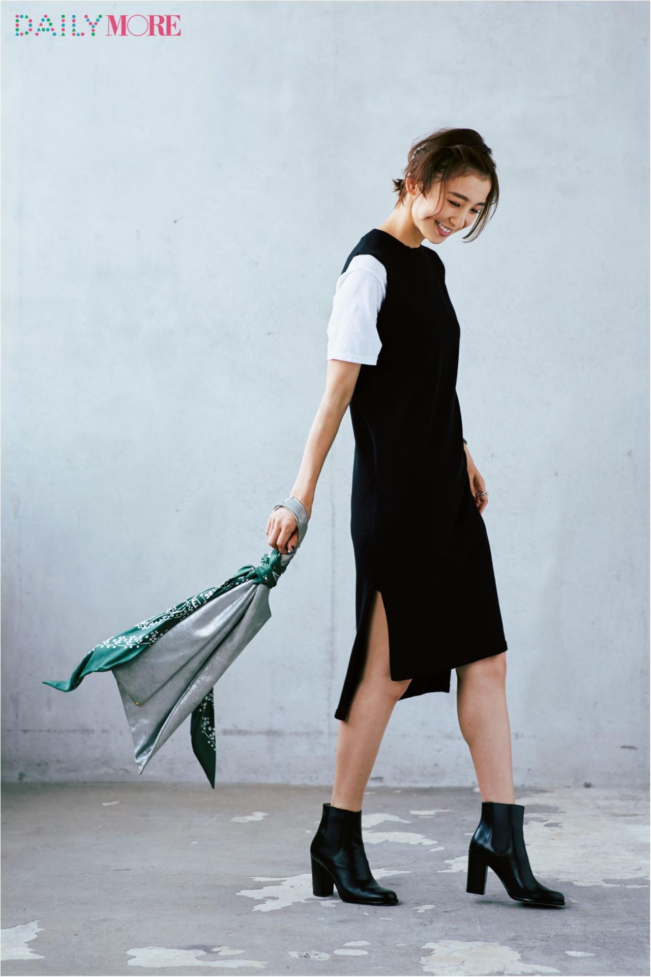 【今日のコーデ/篠田麻里子】白Tの鮮度を上げたい火曜日は最旬レイヤードスタイルで♪_1