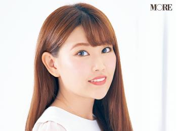 小顔効果のある眉の描き方や、夜まで崩れない眉メイクのコツとは⁉ 美容家・立花ゆうりさんの『優しげピンク眉』に注目