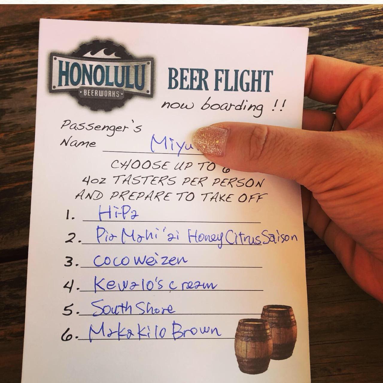 """<ハワイ>ビール好きのモアガール必見!オシャレ壁のあとは、クラフトビールが飲める人気ブルワリー""""ホノルル・ビアワークス""""へ!♡_5"""
