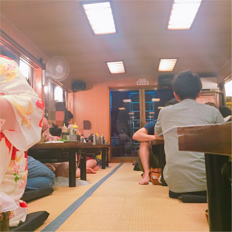 【浴衣で屋形船】お台場の夜景と海を眺めながら♡もんじゃ食べ放題!_5
