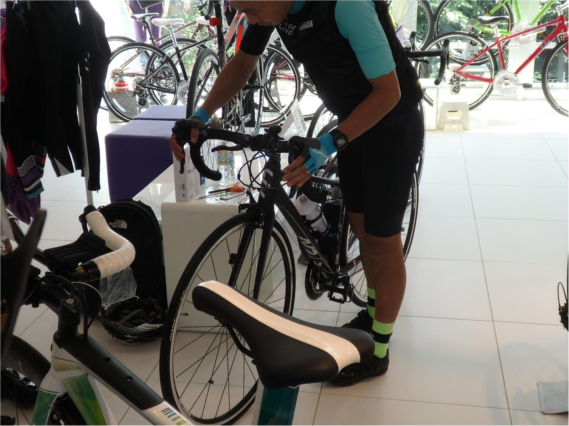 ロードバイク初体験!元オリンピック選手からしっかり教わります!#ツール・ド・東北【#モアチャレ あかね】_5