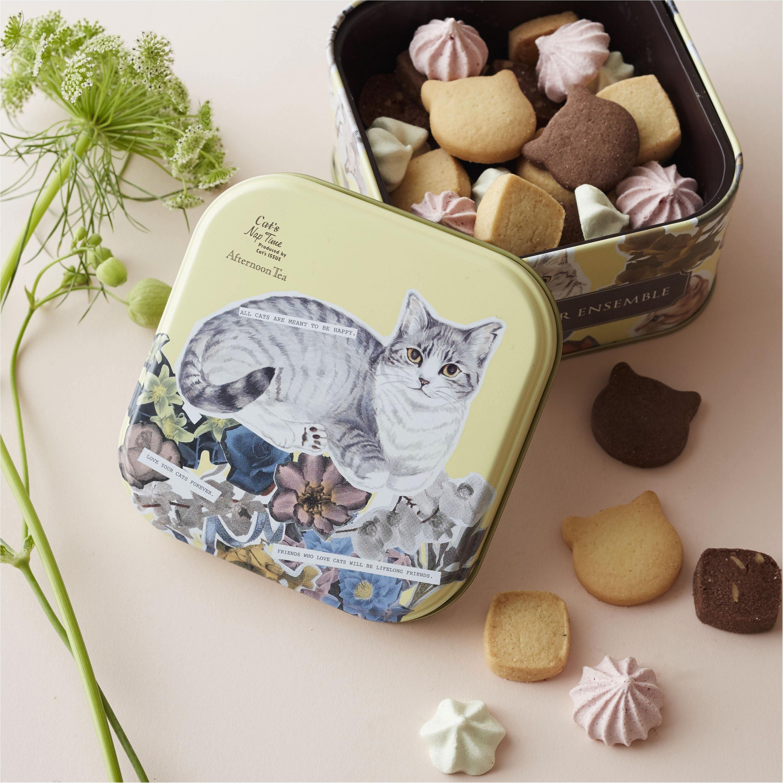 【2月22日はネコの日】テーマは「ネコのお花屋さん」♡ 『アフタヌーンティー』にネコのお菓子やパンがいっぱいです!_1_1