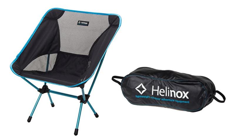 べランピングにおすすめのアイテム『Helinox』の チェアワン