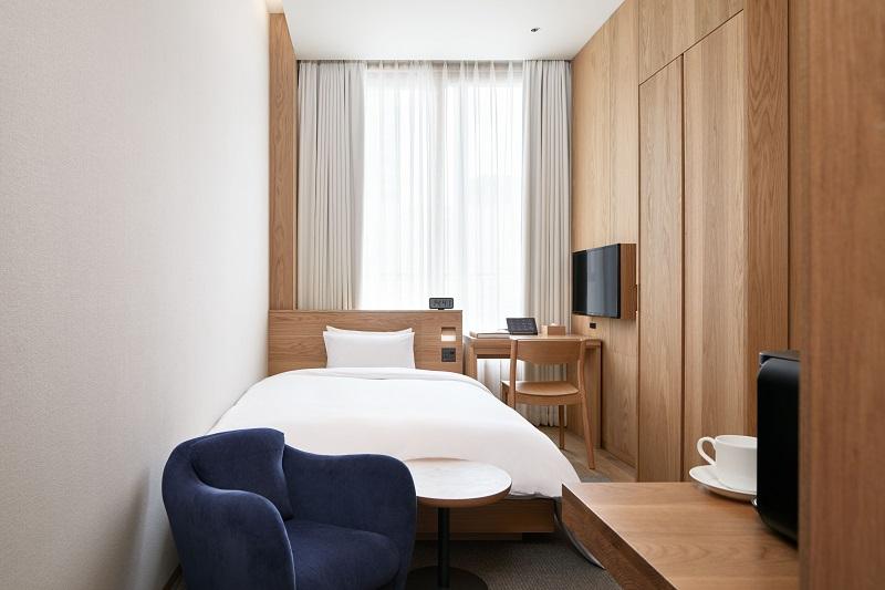 『MUJI HOTEL GINZA』の9タイプの客室、全部見せます♡ 家具からベッド、食器まで。無印良品の名品が使える試せる買える「無印良品 銀座」!_4_1