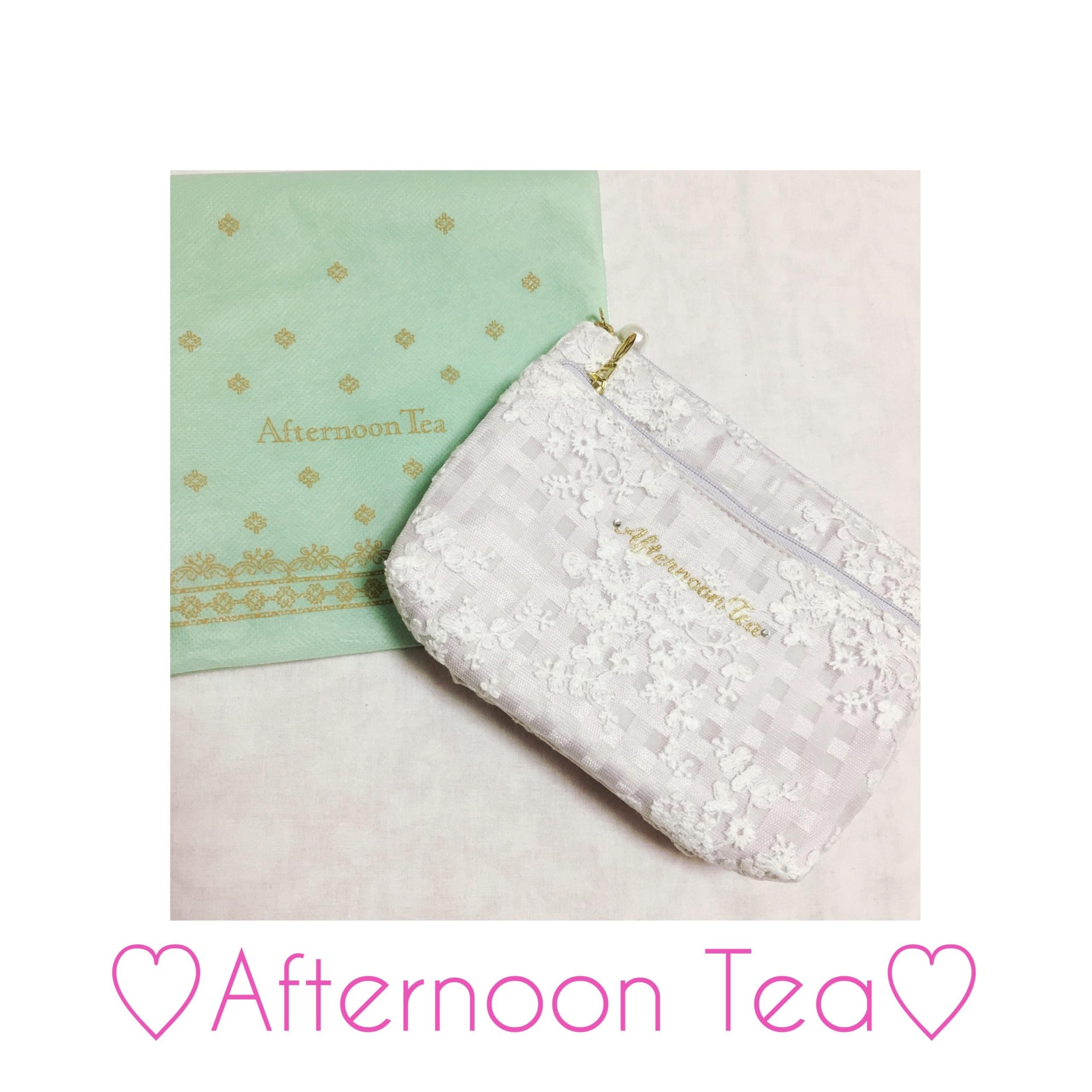 《ギフトにもおすすめ♡》【Afternoon Tea】使いやすくてコンパクト!私の最愛ポーチはコレ❤️_1